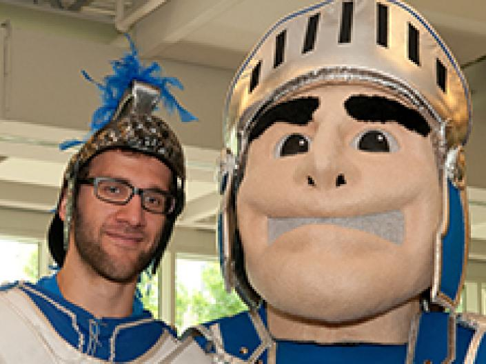 Case Western Reserve University mascots, the Spartan and Spartie