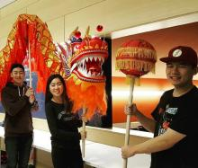 Case Western Reserve University Students celebrating the Lunar New Year