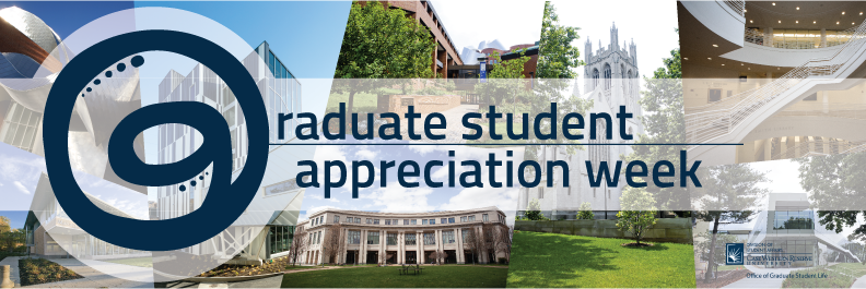 Banner for Graduate Student Appreciation Week 2016