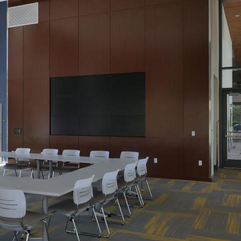 STJ Multipurpose Room on the first floor