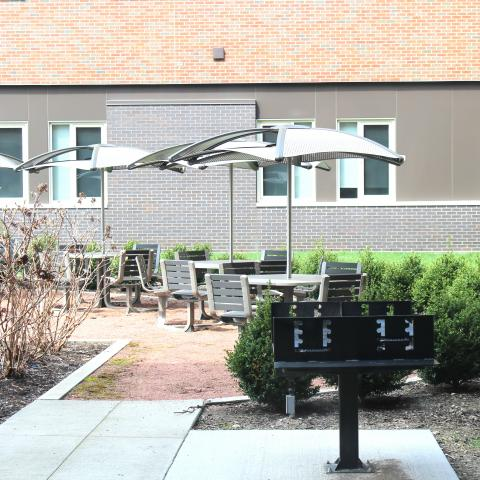 STJ Outdoor Courtyard