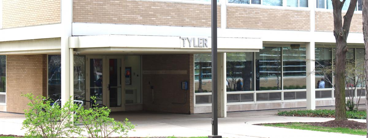 Tyler House entrance