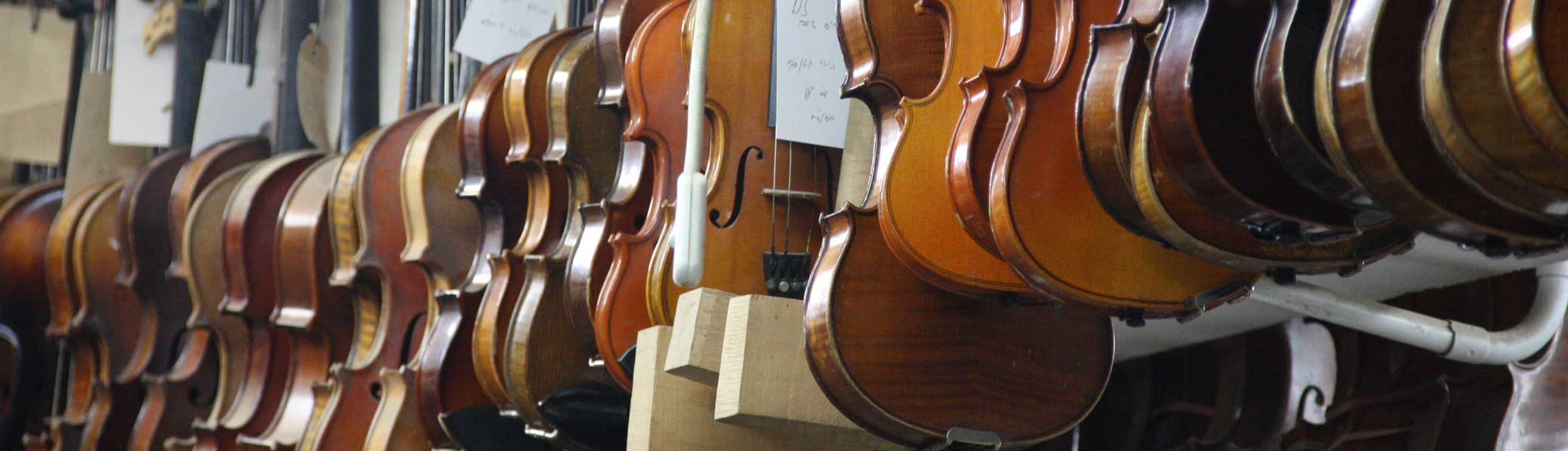 Photo of violins