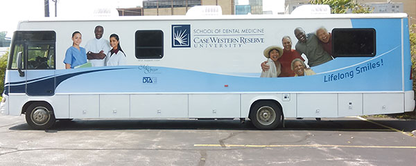 Picture of Dental School travelling van