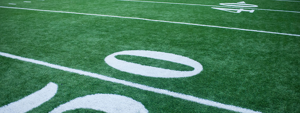photo of a football field