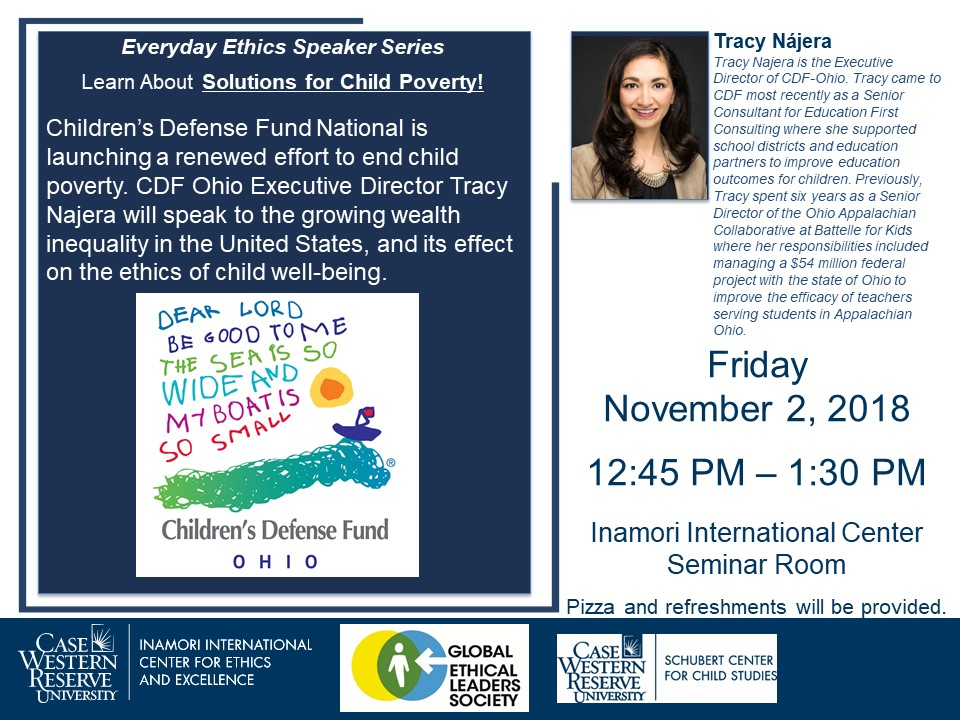 Tracy Najera, OH CDF Director, Learn About Solutions for Child Poverty