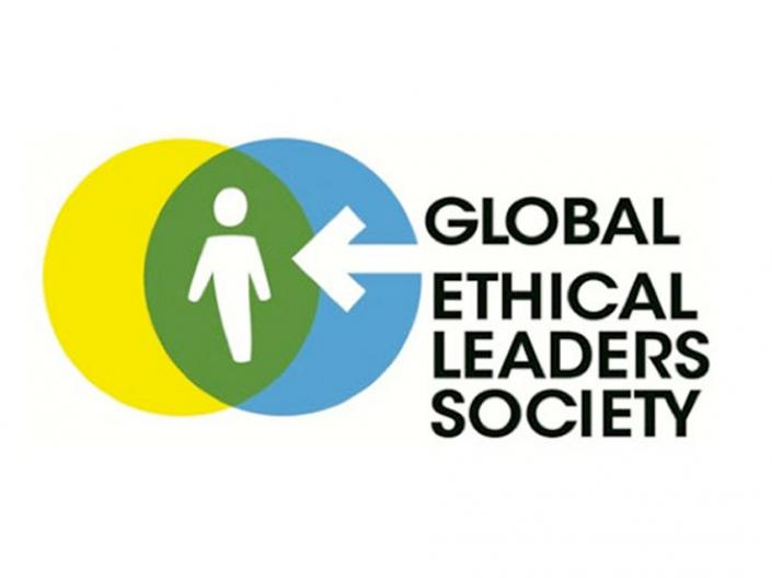 The logo of Global Ethical Leaders Society
