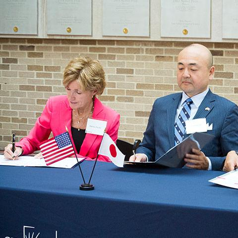 CWRU, Japan's Tohoku University Agree on Research