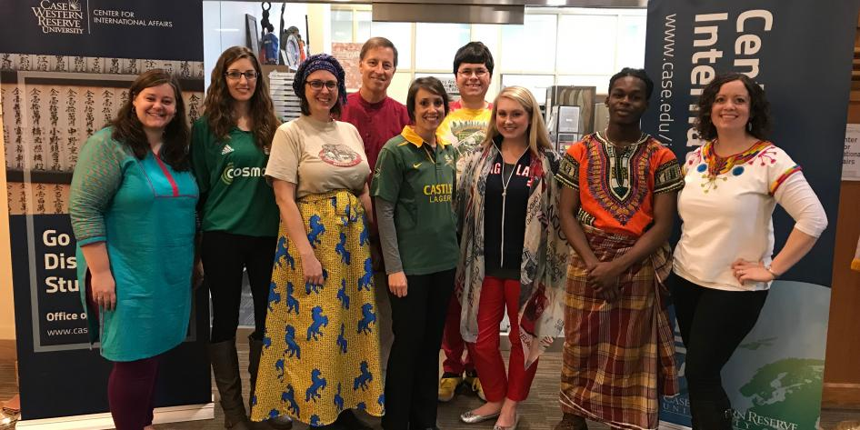 The Center for International Affairs celebrates Global Gear Day