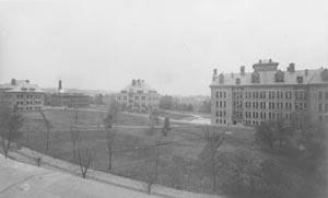 CWRU campus in 1900