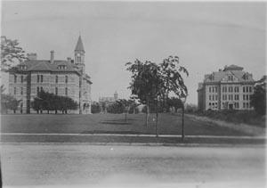 CWRU campus in 1886