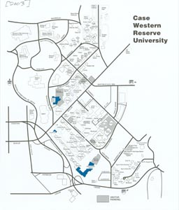 Cwru Campus Map The Changing Campus: 2003