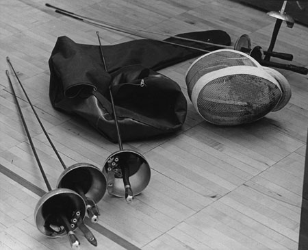 Fencing equipment 1966