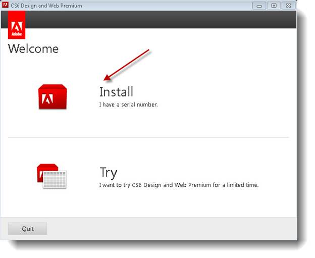 Adobe Cs6 Web Design Installation Instructions