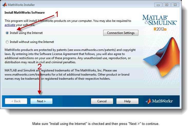 Matlab R2012a TAH Student Version Installation Instructions - Case