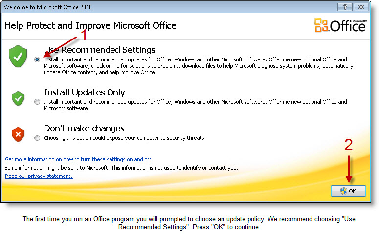 how can i activate microsoft office professional plus 2010