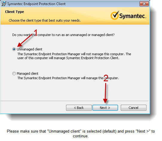 Symantec Endpoint Protection 12 1 2 Installation