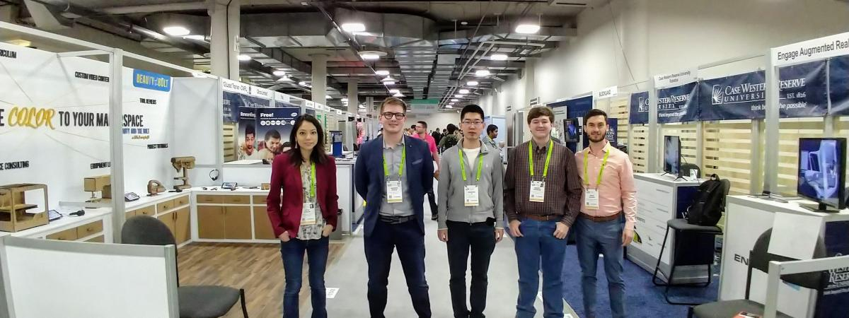 CWRU students at CES2019