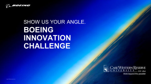 Boeing Innovation Challenge Show us your angle