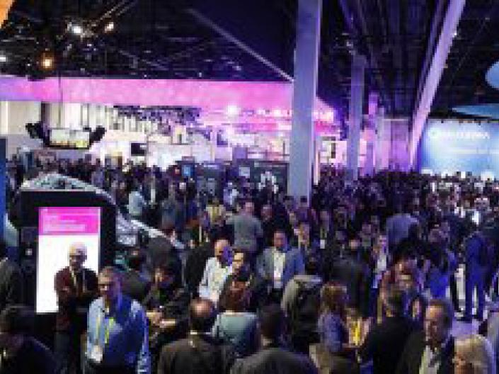 Consumer Electronics Show (CES) in Las Vegas, January 2019