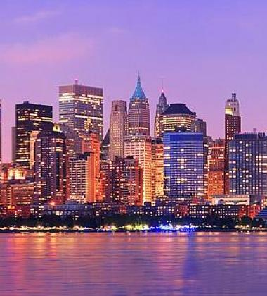 Photo of the New York City skyline