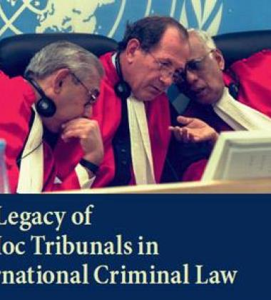 The Legacy of the Ad Hoc International Criminal Tribunals book cover