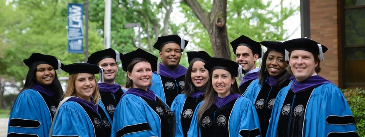 graduating students outside case western reserve university school of law