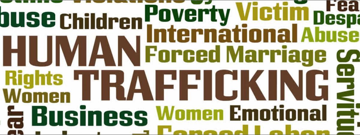 tag cloud with text abuse, children, poverty, victim fear, despair, exploitation, human, international, abused, forced marriage, rights, women, trafficing, servitude, crime, fear, business, women, emotional, forced labor