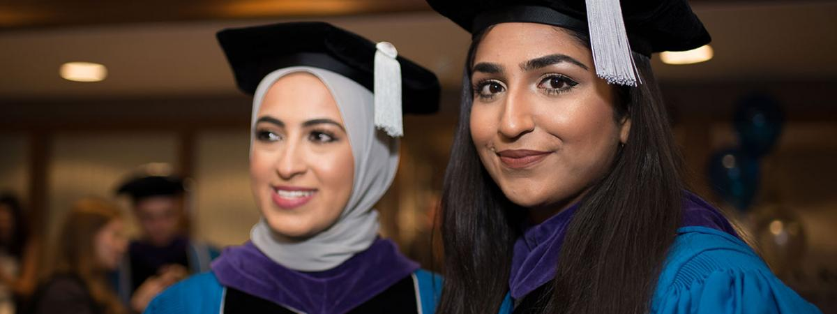 Two CWRU Law SJD students at graduation