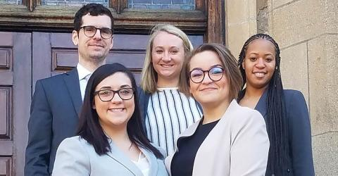 CWRU's International Criminal Court Moot Court Team
