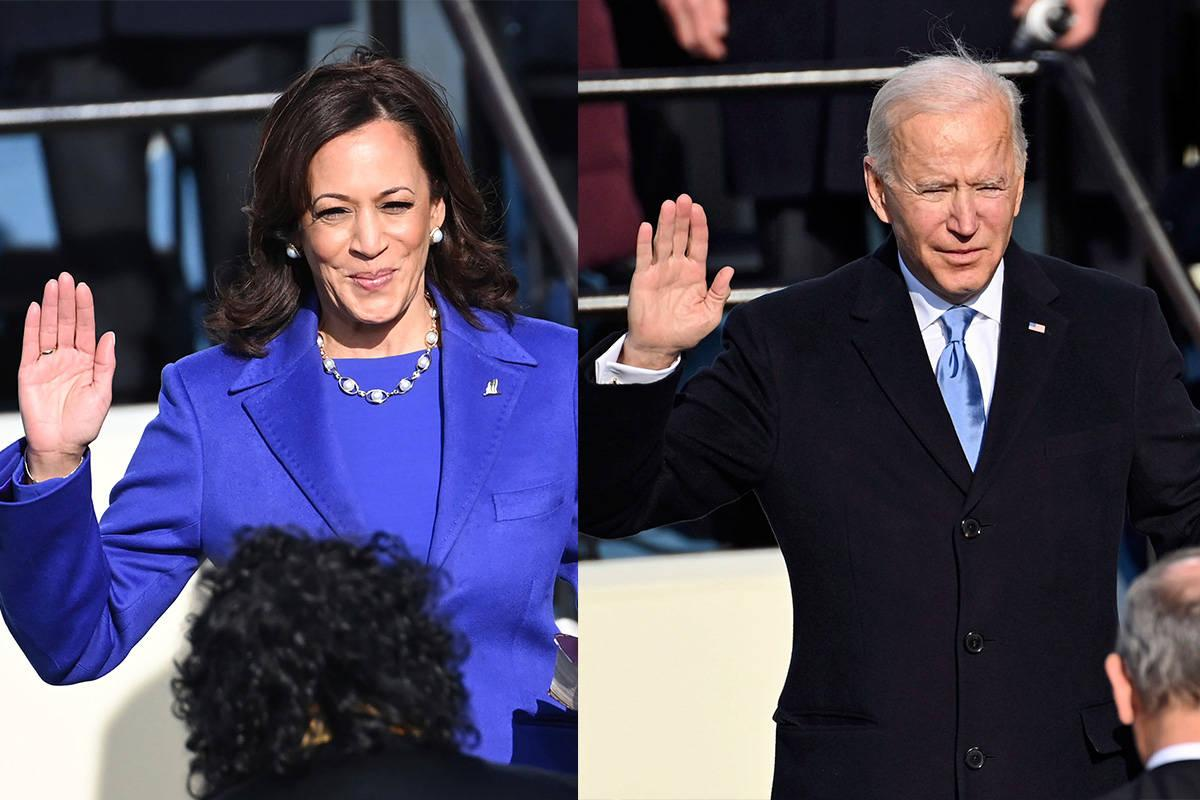 Photo of President Biden and Vice President Harris