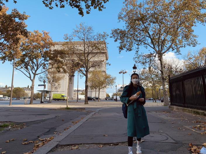 Photo of Clare Shin in Paris