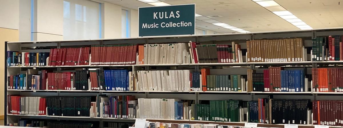 Kulas Music Library Shelves