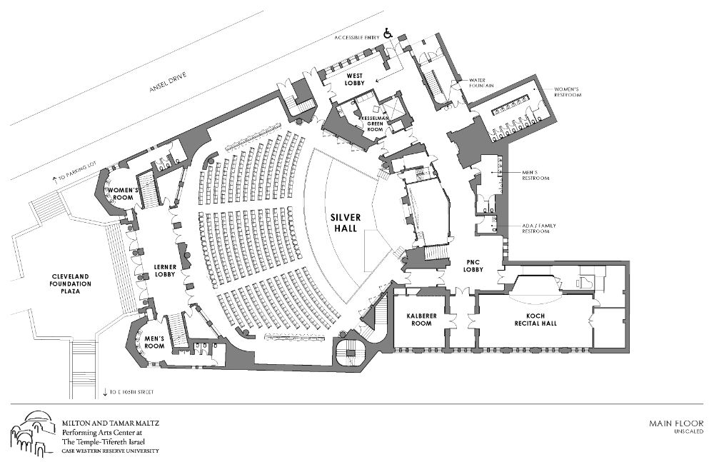 technical rendering of first floor