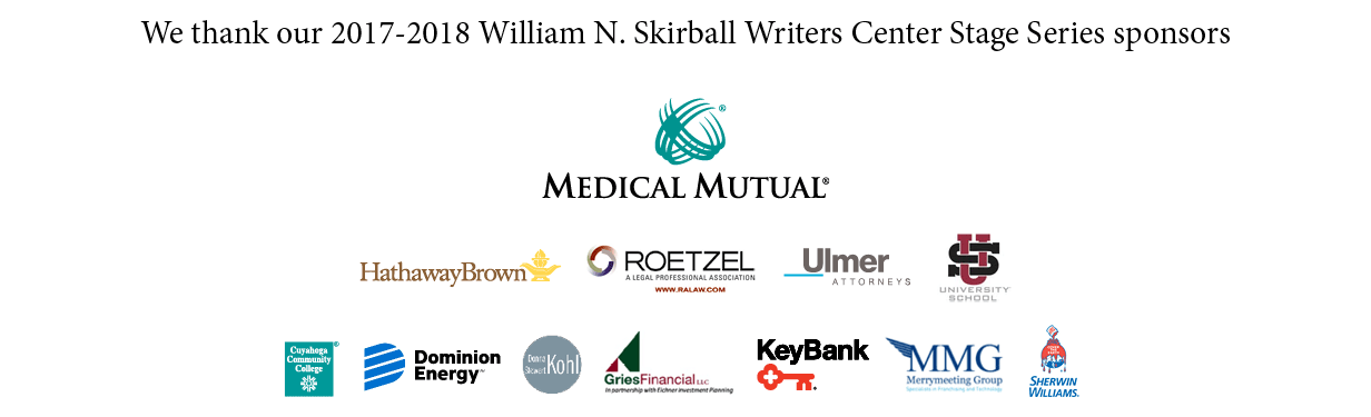 we thank our 2017-18 william n. skirball writers center stage series sponsors
