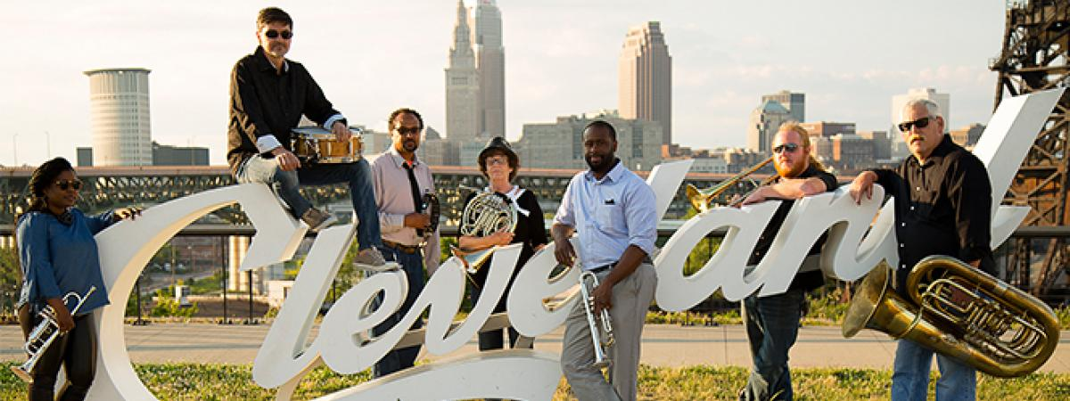 Cle Brass Works Band Photo