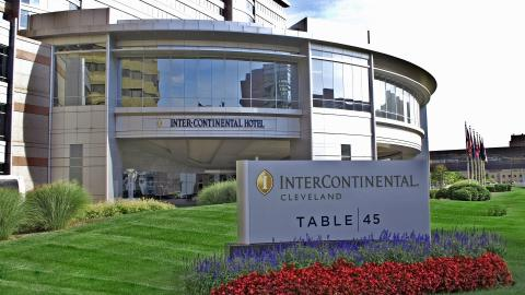 Exterior of InterContinental Hotel
