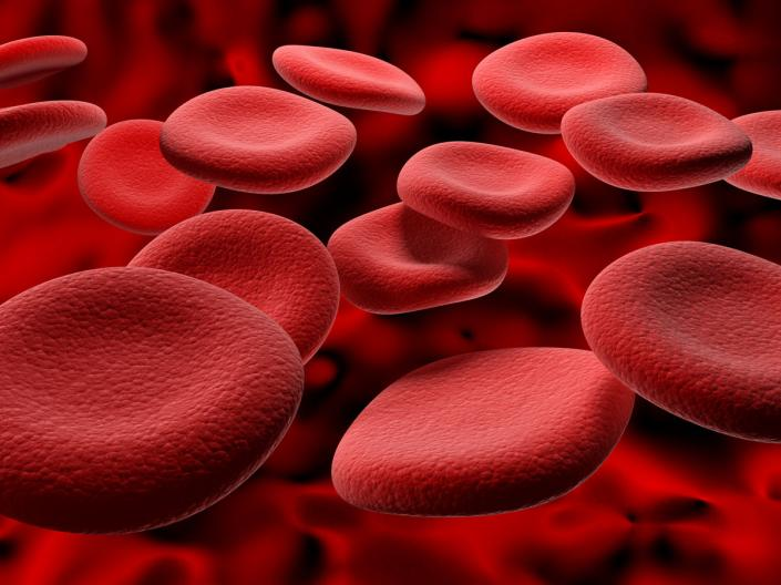 Images of red blood cells