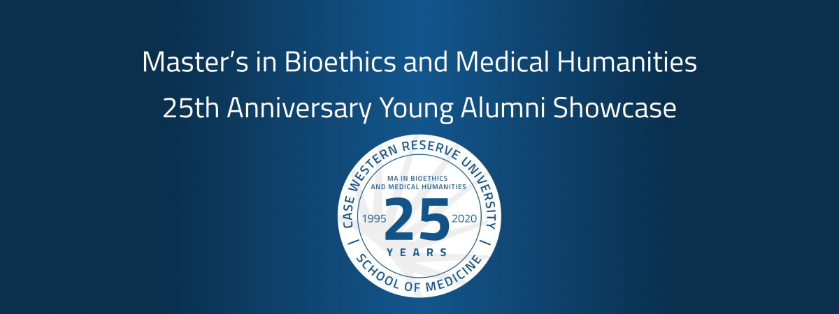 25th Anniversary Young Alumni Showcase title card