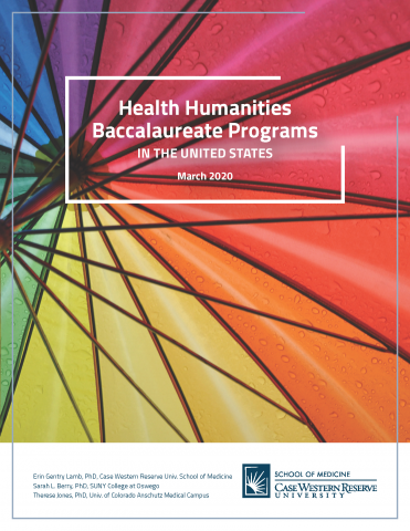 Health Humanities Report 2020 Cover