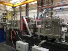 Photograph of the apparatus for FMX and AMX beamlines.
