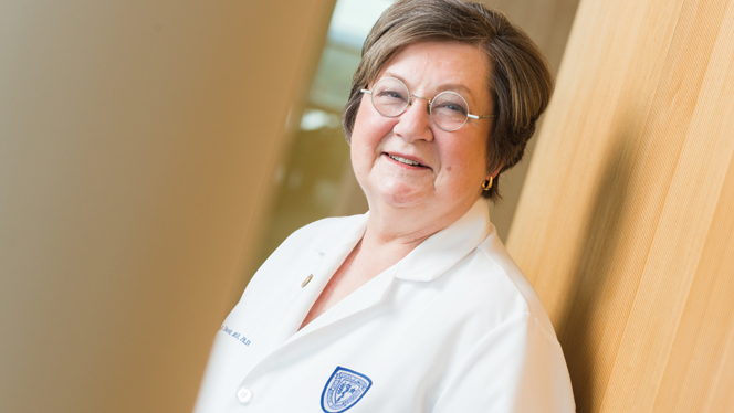 CWRU School of Medicine Dean Pamela B. Davis, MD, PhD