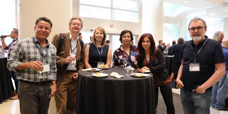 Group of Researchers Networking