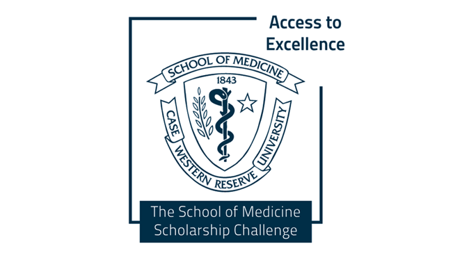 CWRU School of Medicine Access to Excellence logo