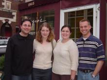 Group photo of Genetic Counseling Class of 2006