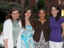 Group photo of Genetic Counseling Class of 2010
