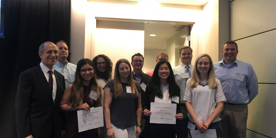 Poster Award Winners at Cancer Center Retreat 2018