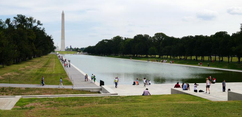 Lincoln Memorial Reflective Pool in Washington, D.C.