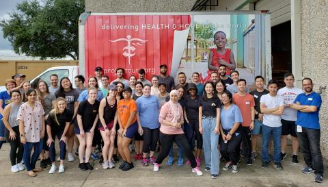 Houston Volunteers at Project C.U.R.E.