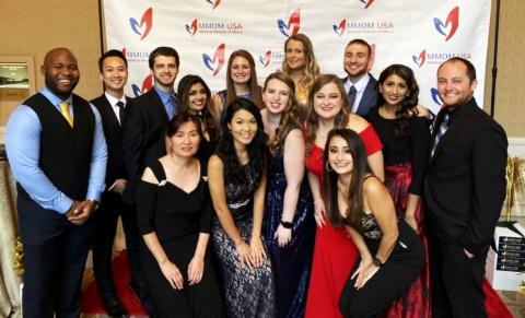 MSA students from the Washington D.C. program volunteered at an annual gala hosted by MMOM USA